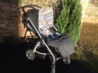 Mamas and Papas Sola 3 in 1 Travel System including Isofix Base - Great Condition!