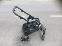 Baby 3in1 excellent complete travel system GRACO EVO XT with ISOFIX car seat base