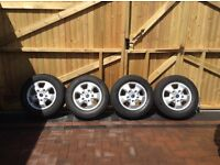 Ford Transit/Custom Genuine Alloy Wheels & Continental Tyres. *^*^ Immaculate/Mint Condition*^*^*^*^