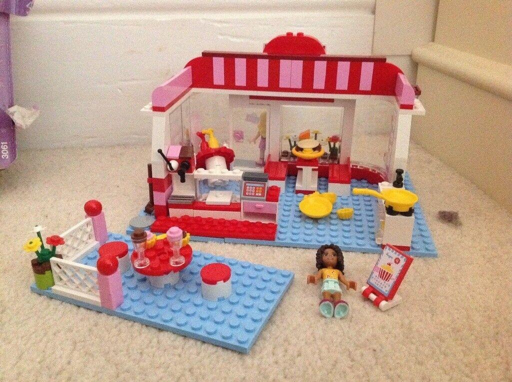 Lego Friends City Park Cafe 3061 In Poole Dorset Gumtree