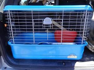 "Large PET CAGE 20x20x30"" Ferret, Guinea Pig, Rabbit with 2 Ferret BOOKS bowls, toys, ramp OAKVILLE 905 510-8720"