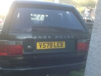 Range Rover 2.5 deisel p38 good condition 1999 v reg automatic
