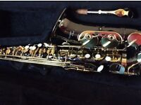 Vintage Elite Alto Saxophone in perfect condition, one owner