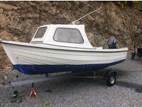 Orkney coastliner 14ft fishing boat