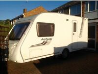 2009 SWIFT ARCHWAY WOODFORD 2 BERTH CARAVAN
