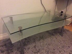 Elegant Curved Coffee Table