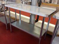 Stainless Steel Table 90 cm / Restaurant / Take Away