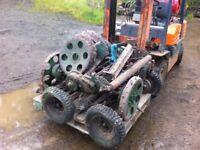 Ransom gang mower parts