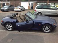 BMW z3 convertible only 73000 miles very clean