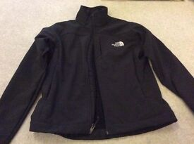 The North face neoprene black jacket ladies size SMALL