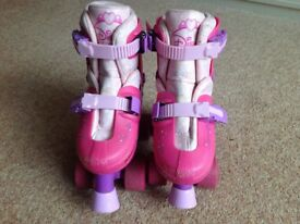 Girls Disney extending princess roller skates
