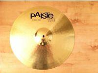 Turkish and Paiste Cymbals £70 and £20