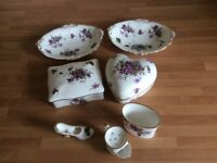 Spode - China dressing table set