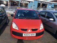 Mitsubishi colt red 1.0 petrol hpi clear