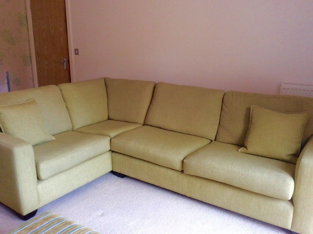 corner sofa from john lewis in sarisbury green. Black Bedroom Furniture Sets. Home Design Ideas