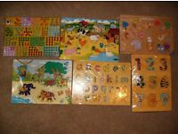 selection of toys and puzzles