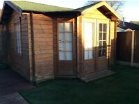 Used summer house log cabin great condition