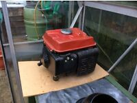 2 stroke generator priced to sale £30