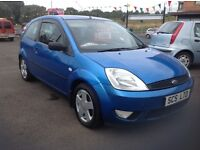 Ford Fiesta zetec climate 1.4 55 plate 1 lady owner 85000 miles PSH (6 stamps) MOT ONE YEAR