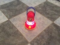 Fireman Sam torch/lantern with vehicle silhouette maker for age 3+