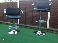 Bar stools,,,( a pair of )
