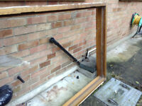 Solid OAK heavy door frame - excellent condition - exterior door