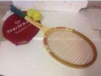 Large headed tennis rackets