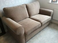 ScS 2 Seater Sofa Bed with Mattress - Nearly New