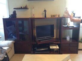 Mahogany large to cabinet