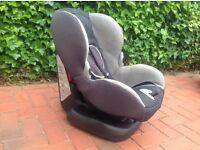 MAXI COSI child's car seat on Isofix base