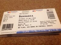 Tickets for Box Mania featuring live performance by Dappy