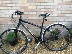 CARRERA CROSSPATH HYBRID BIKE first class nearly new condition