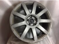 "Audi RS4 Style 18"" Alloy wheels x2 not OEM"