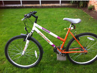ladys saxon impulse mountain bike FULLY WORKING