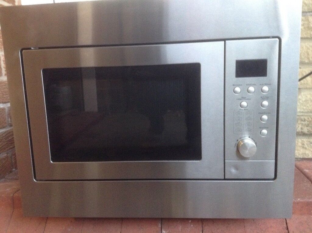Built In Microwave Oven Stainless Steel Finish