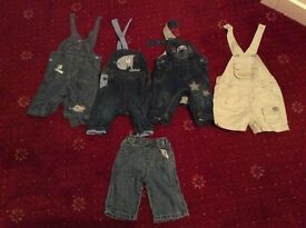 Baby dungarees/jeans 0-3 months