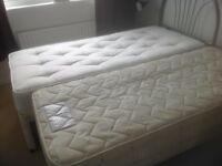 Immaculate guest bed for sale. Top mattress almost new, great bargain.