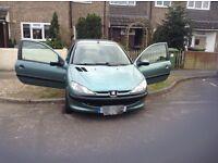Peugeot 206 for sale