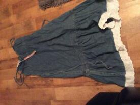 NEW Denim Dress size 12