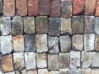 Reclaimed London stock bricks