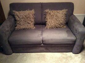 John Lewis mocha 2 seater sofa bed