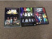Jls DVDs x3