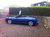 1994-2004 ALFA ROMEO SPIDER BREAKING FOR SPARE PARTS ALL PARTS AVAILABLE