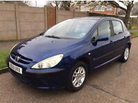 PEUGEOT 307 LX LONG MOT EXCELLENT FOR NEW DRIVERS VERY CHEAP TO INSURE