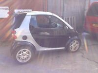 Smart car cabriolet breaking for parts