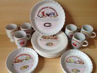 Set of baking dishes.
