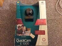 Logitech QuickCam E1000 VGA (640x480) 30fps 1.3MP photo universal windows XP/Vista LOCAL DELIVERY