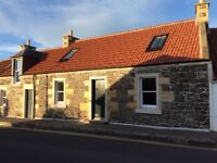 Attractively renovated 4 & 1 bedroom cottages to let in historic centre of Leuchars, near St Andrews