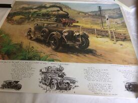 TERENCE CUNEO TRAIN PRINT
