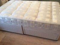 Westminster small double bed (120cms x190cms). Great condition, hardly used as in guest room